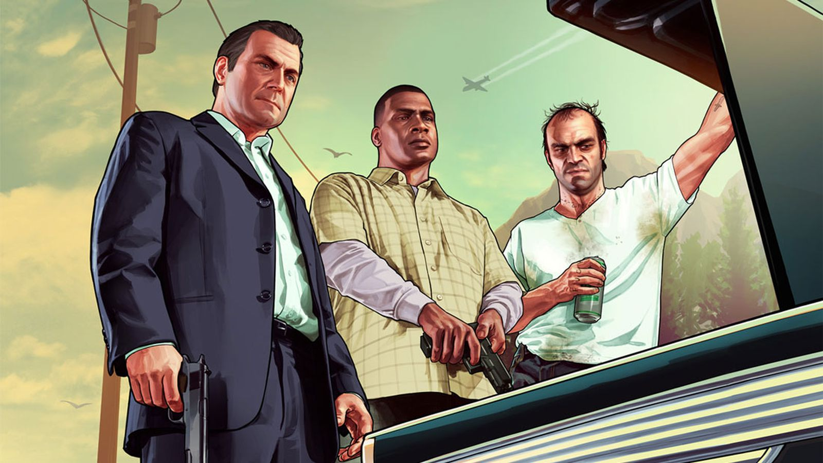Grand Theft Auto 5 trailers delve into protagonists Michael