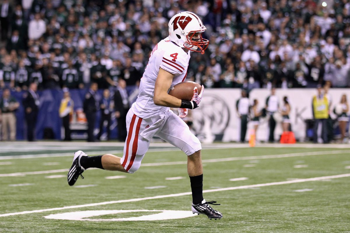Jared Abbrederis led Wisconsin in receiving yards last season and the Badgers will look for the redshirt junior to lead the charge again in 2012.