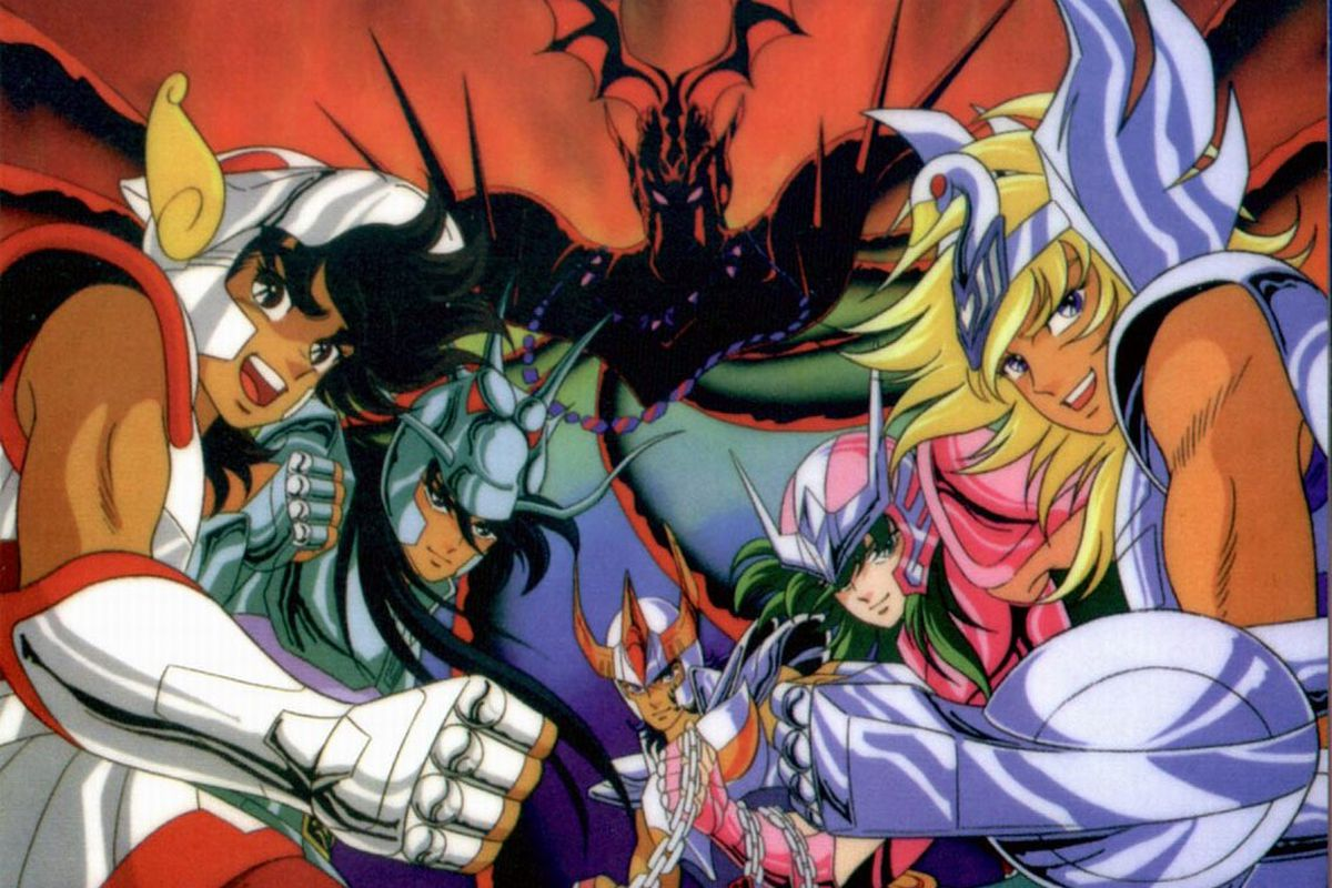 Classic 80s anime saint seiya will be remade for netflix