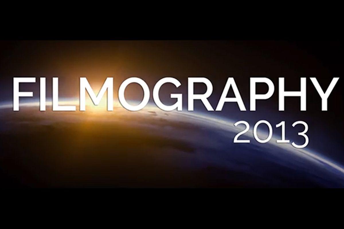 filmography 2013