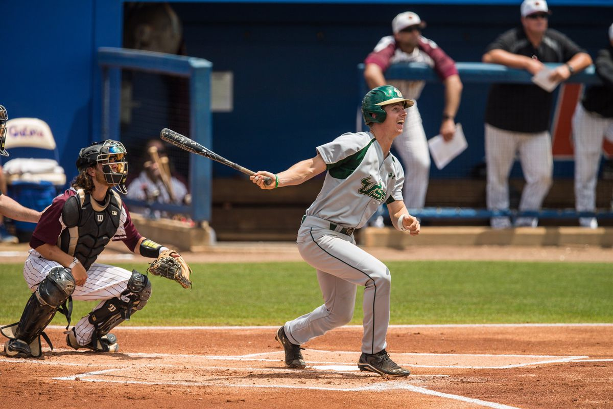 Florida scores 4 in 12th inning to defeat South Florida, 5-1