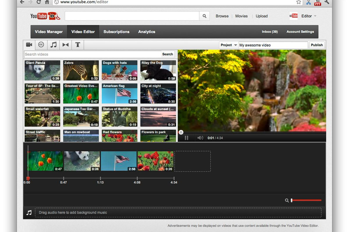 Youtube: YouTube Refreshes Video Editor, Video Manager, And Browse