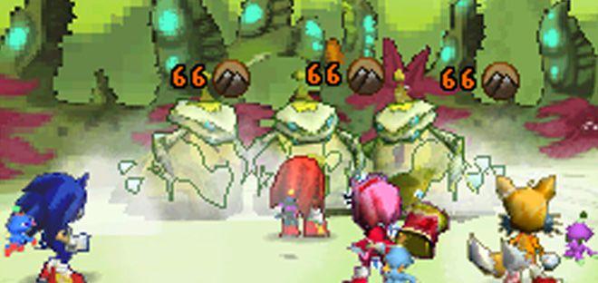 Sonic Chronicles screenshot