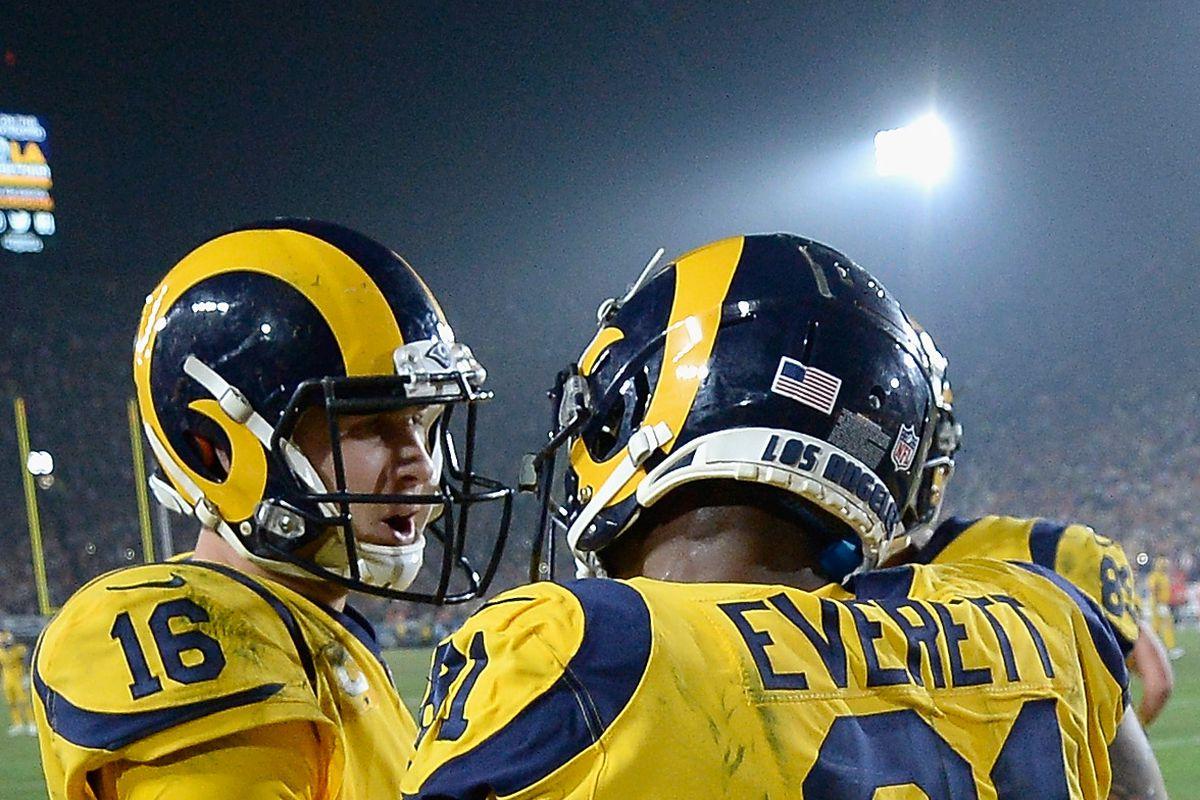 Los Angeles Rams versus Kansas City Chiefs  Stock up e1a8d3578