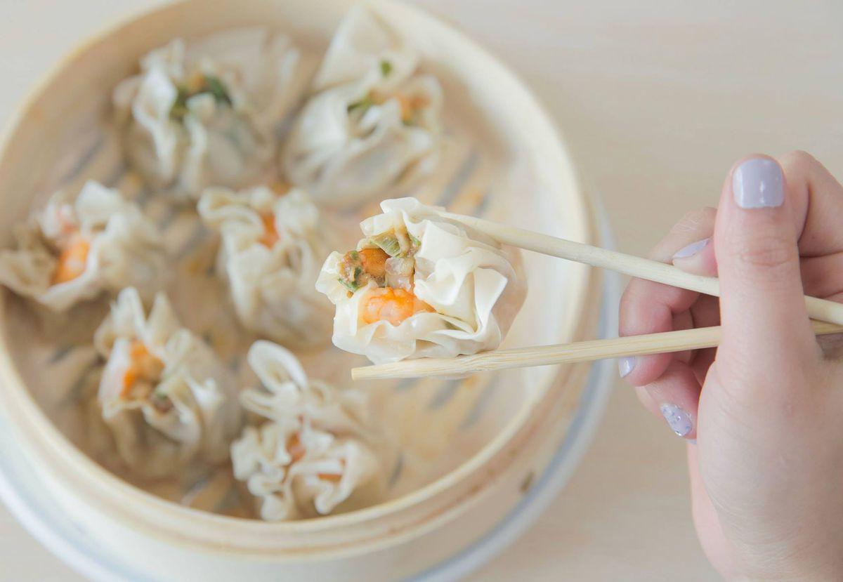 Dumplings and dim sum at China Kitchen at Atlanta Chinatown on New Peachtree Road