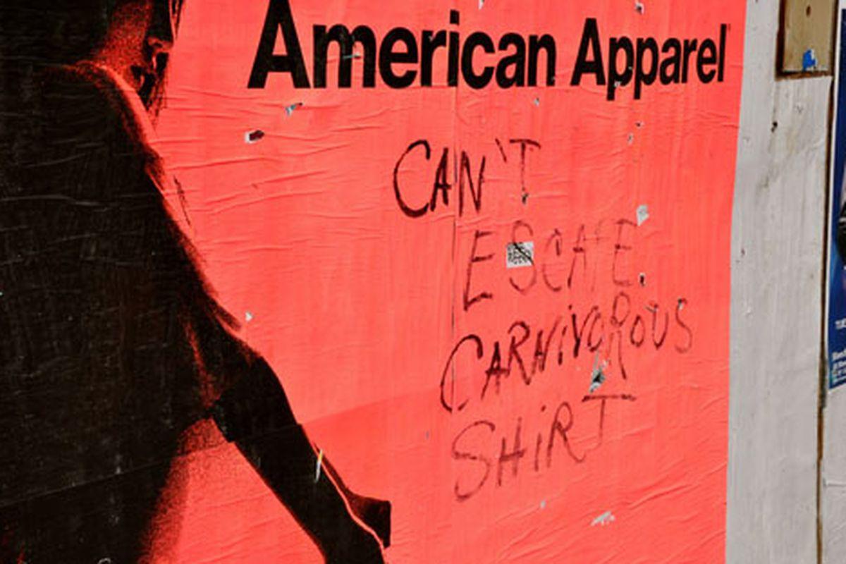 "Carnivorous shirt via <a href=""http://www.flickr.com/photos/essgee/4396678224/in/pool-312691@N20"">EssG</a>/Racked Flickr Pool"