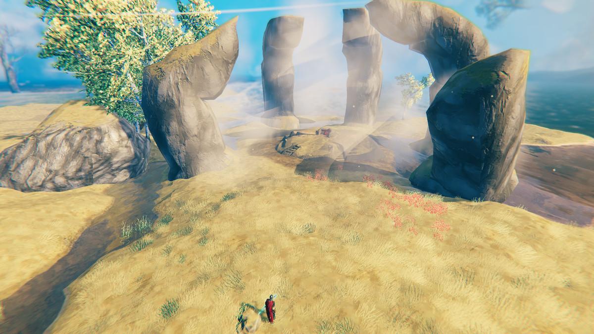 Valheim plains biome boss Yagluth summoning altar