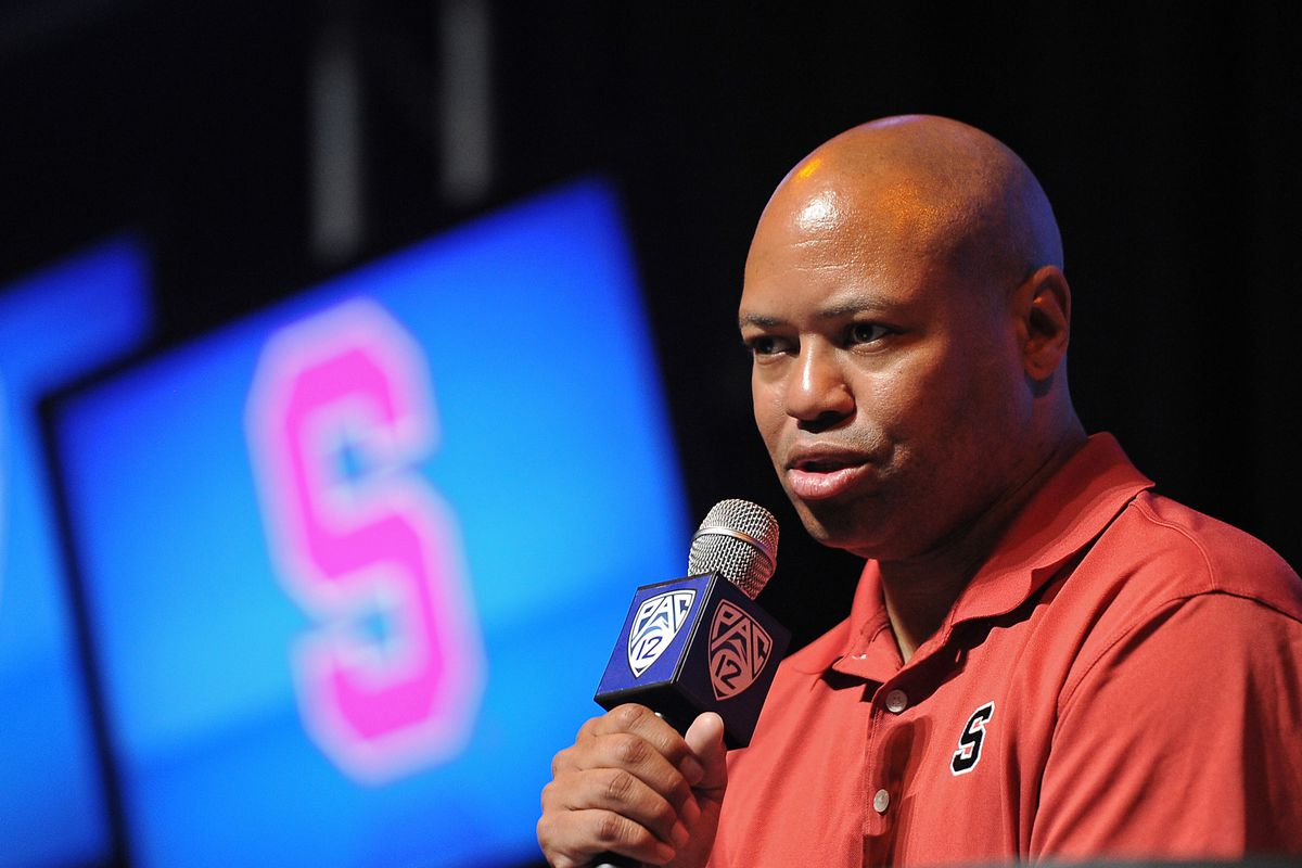 David Shaw says something not very interesting at today's Pac-12 Media Day.