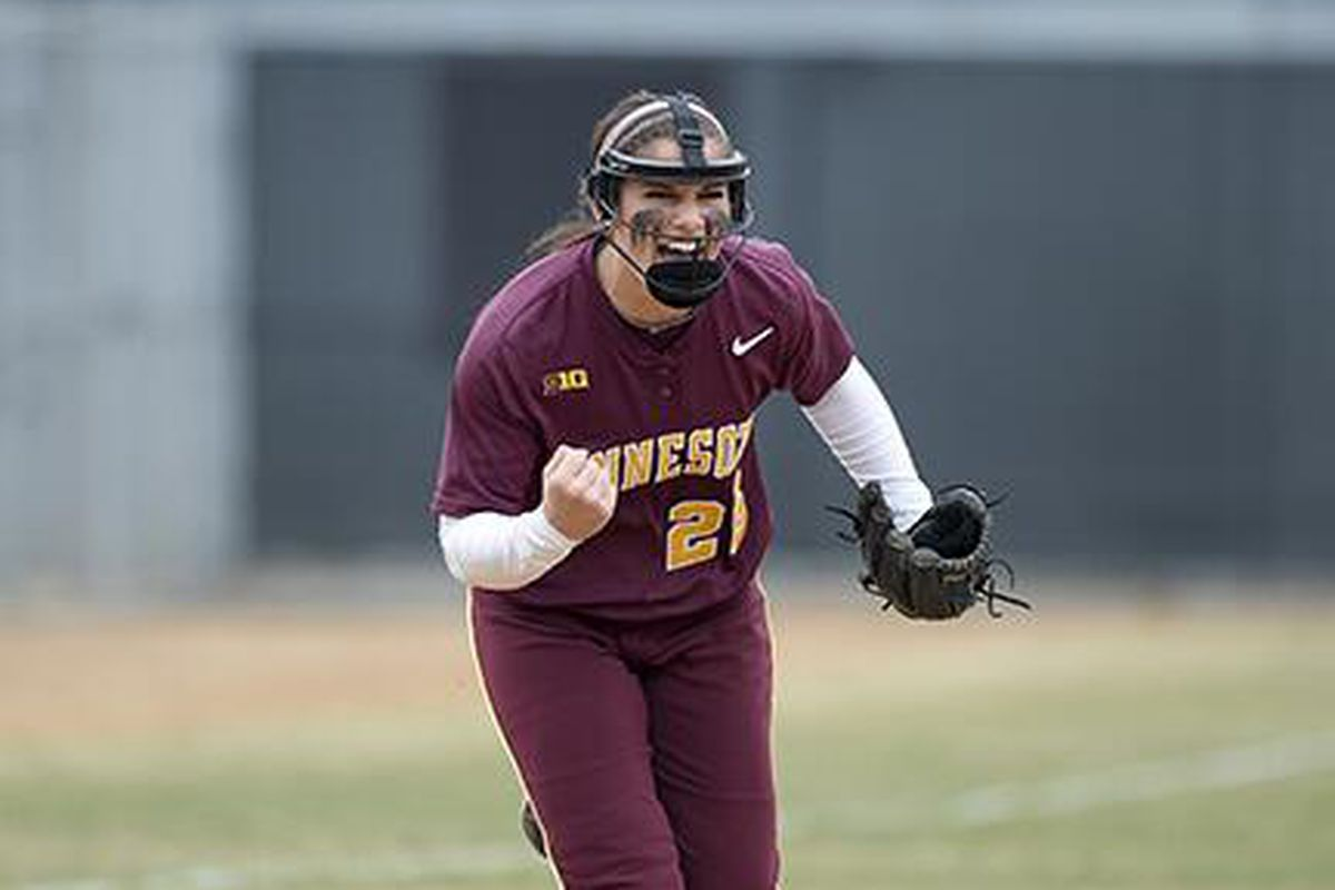 Gopher Senior Kaitlyn Richardson was named to the All-Big Ten First Team!