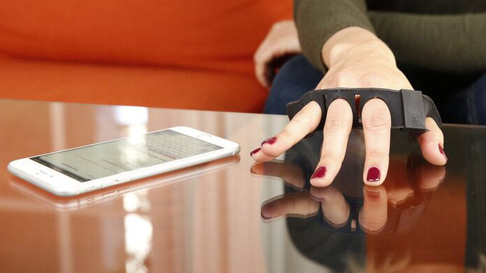 Tap Strap Wearable Keyboard Uses Gestures To Type On Any