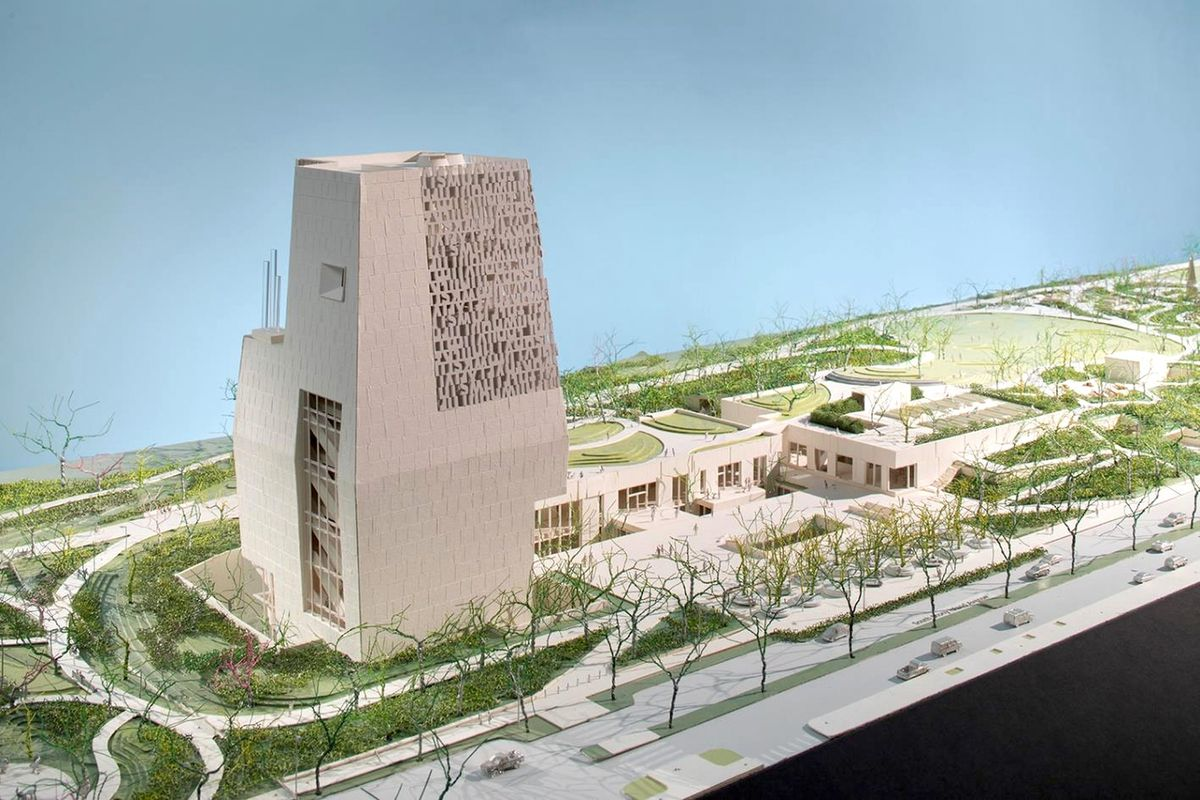 Chicago s obama presidential center gets new taller for Architecture 2018