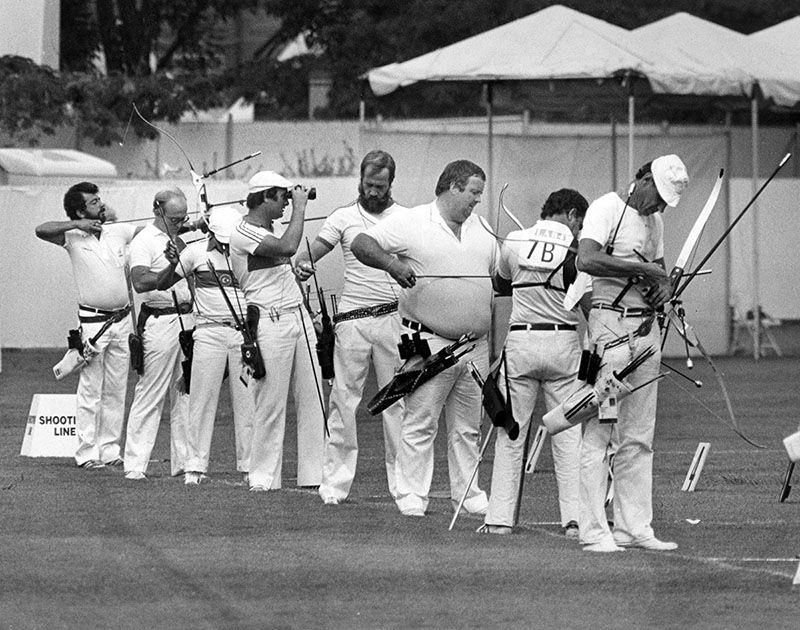 1984 Olympic archery