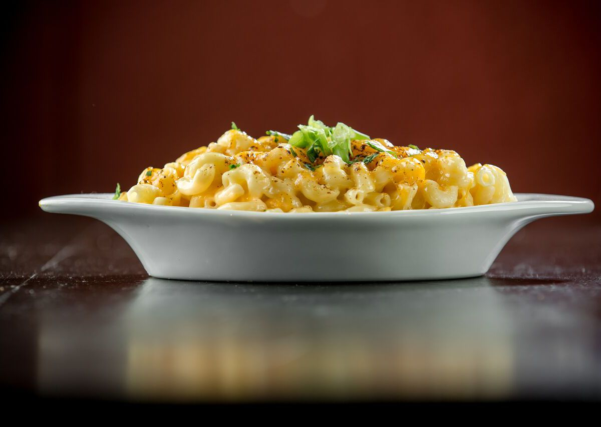 Old Skool Cafe's mac and cheese