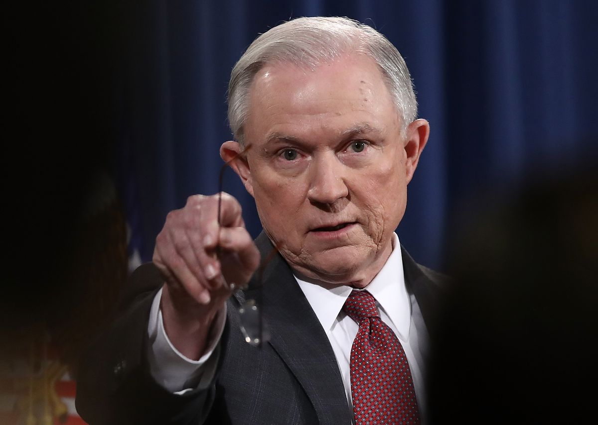 U.S. Attorney General Jeff Sessions. | Getty Images