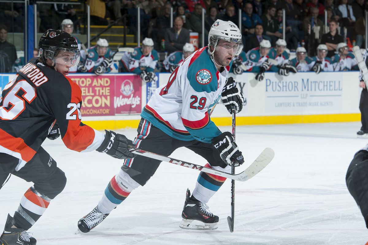 Myles Bell has been a star for the Kelowna Rockets since switching from defense to forward.