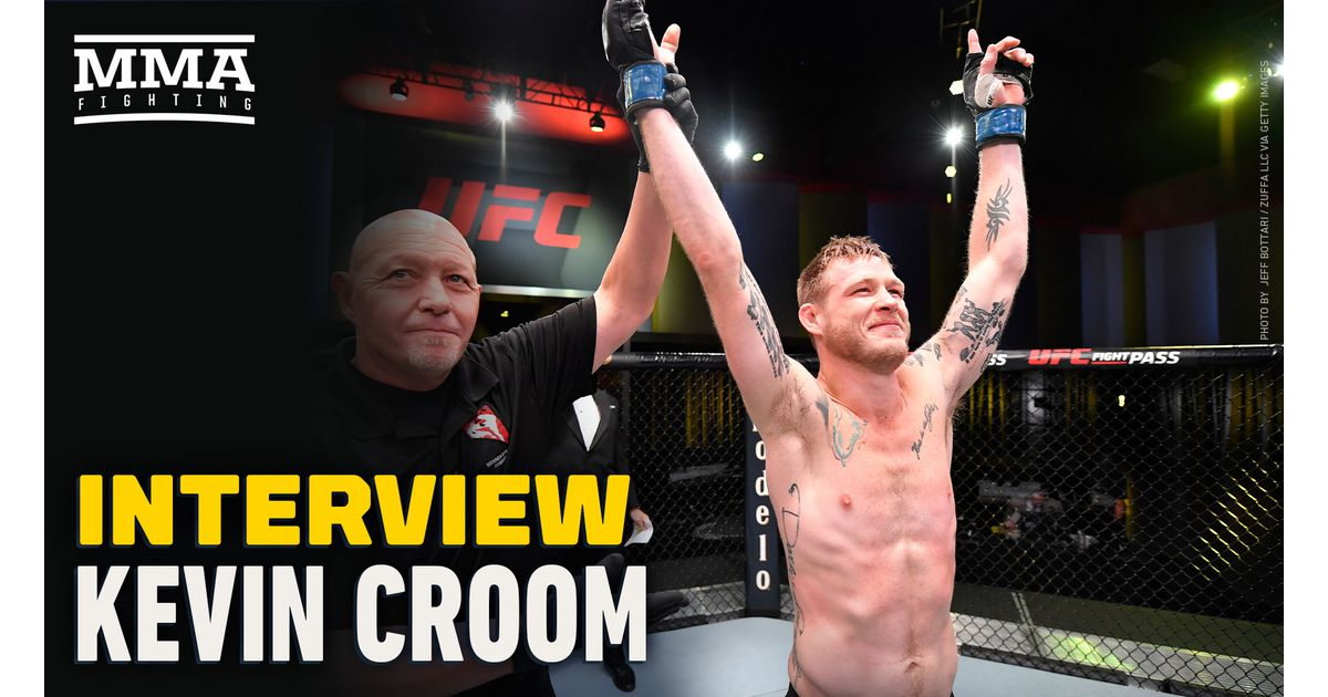 UFC Vegas 10 winner Kevin Croom explains going from $64 in his bank account to 'more money than I made last year'