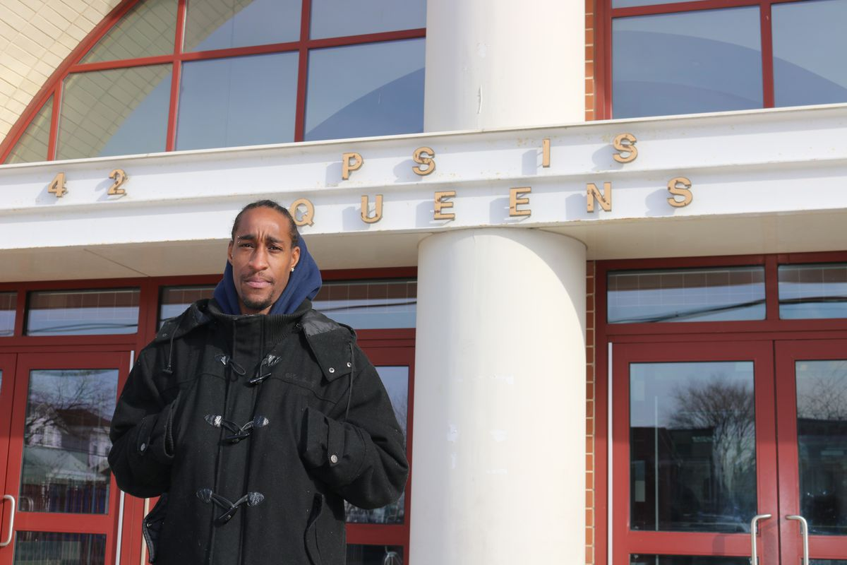Kevin Morgan, the Parent Association president at P.S./M.S. 42, is leading a fight to keep the Rockaway school open.