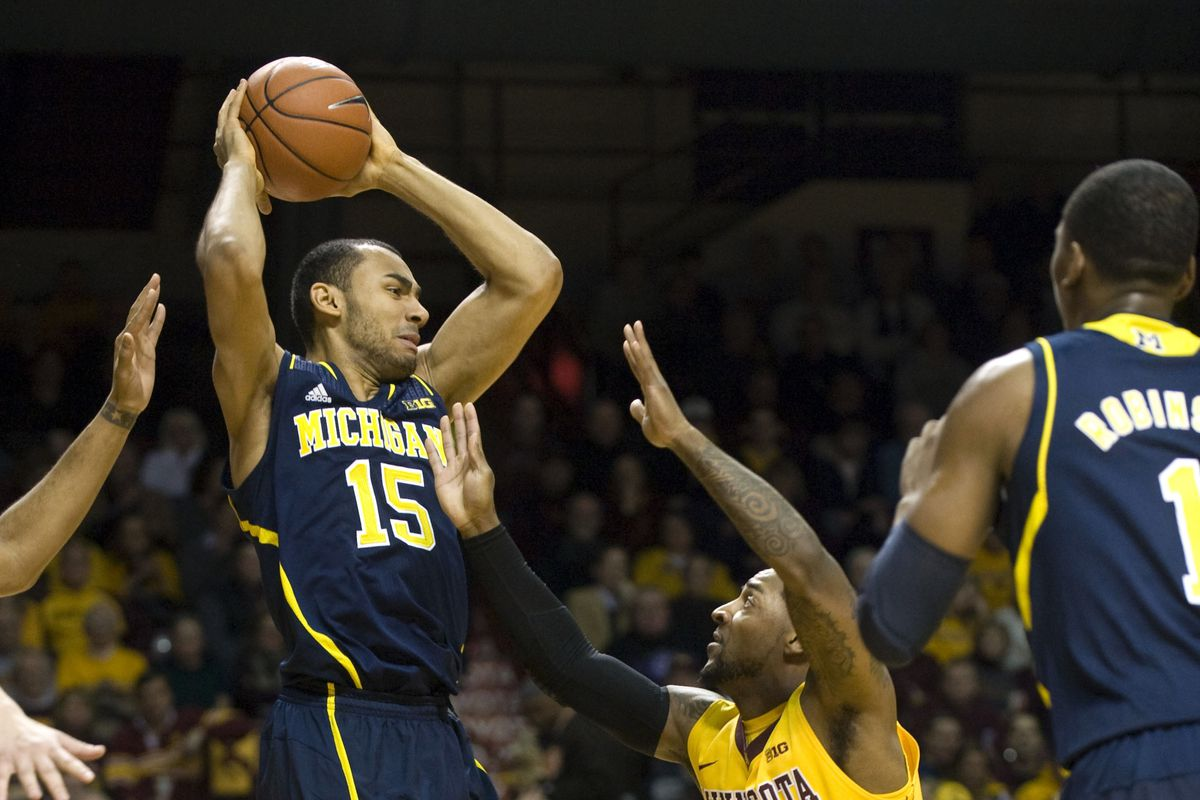 Jon Horford playing in one of the best games of his career against Minnesota.
