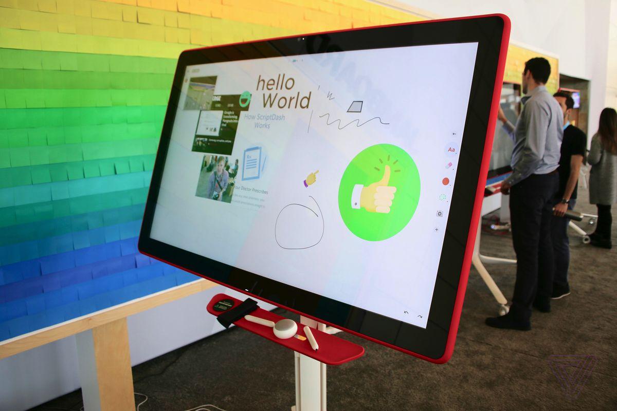 Google's Jamboard is the cutest collaborative whiteboard ...