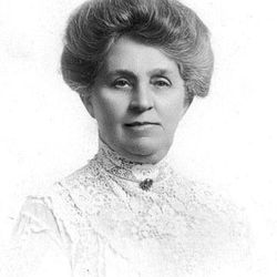 Seraph Young was the first woman to vote in an election in the U.S., in 1870. A mural of her vote has been recently placed in the Utah House of Representatives chamber.