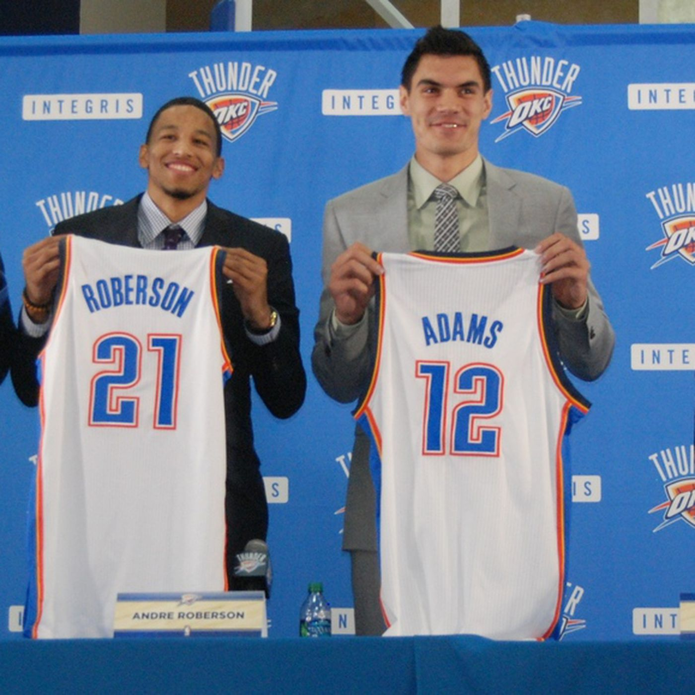 best service c9a89 4575a 2013 NBA Draft: WTLC visits the Thunder's welcome party to ...