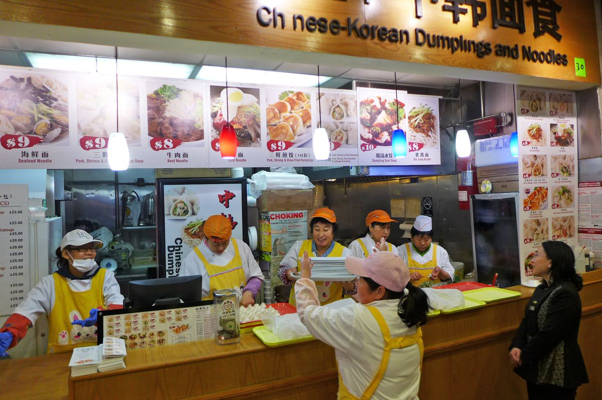 Chinese Korean Dumplings and Noodles, New World Mall