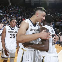 Grant and Auguste celebrate the win
