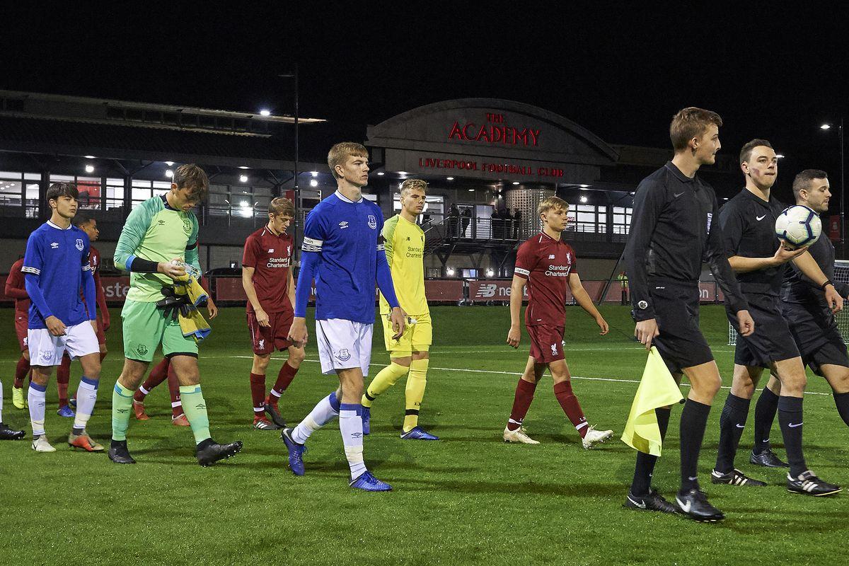 Liverpool v Everton: U18 Premier League