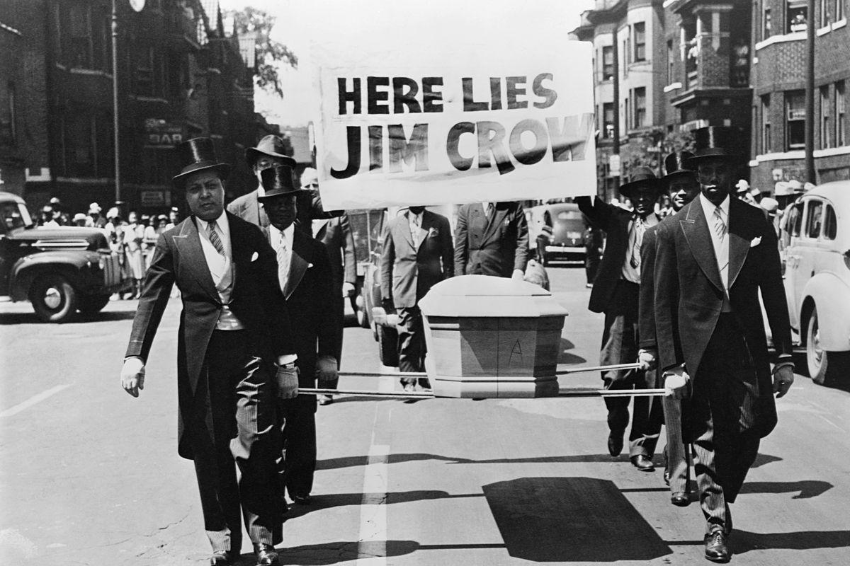 Symbolic Funeral of Jim Crow