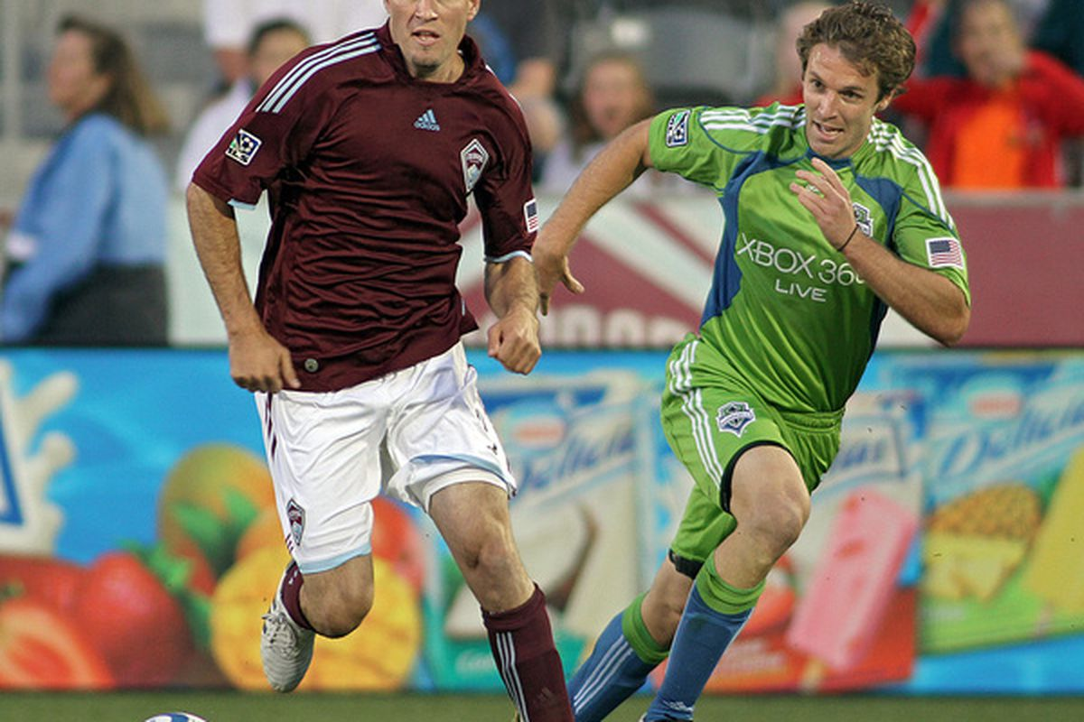 Conor Casey and the rest of the main squad will be in Seattle today.