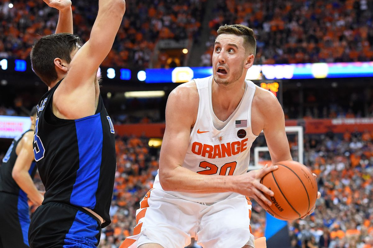The Utah Jazz select Tyler Lydon from Syracuse with the No. 30 overall pick in the Blazer's Edge 2017 NBA Mock Draft.