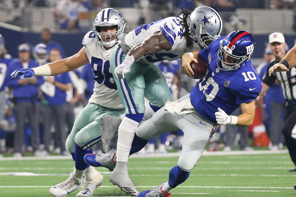 Dallas Cowboys Vs. New York Giants, NFL Week 17 - Blogging ...