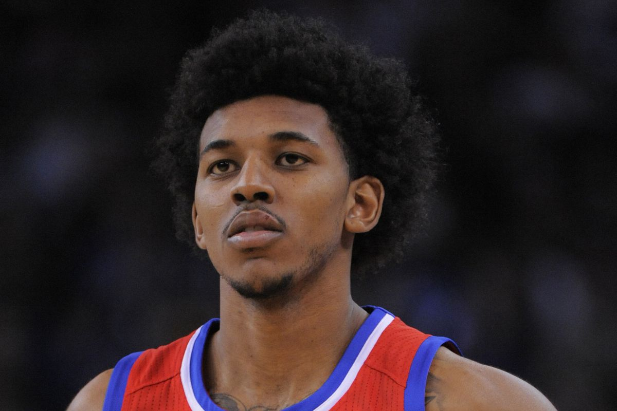 """Nick Young, now 6'9""""."""