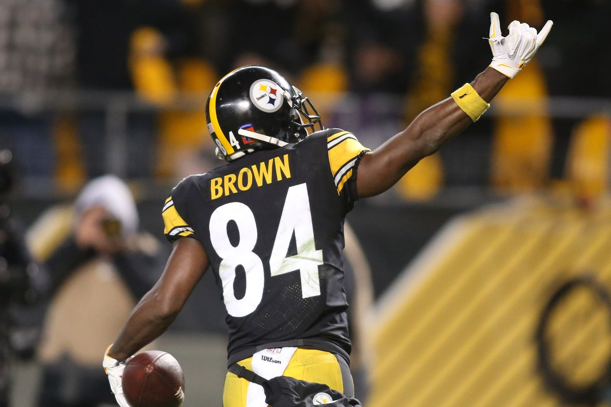 Antonio Brown's Brilliance Saved the Steelers Against the ...