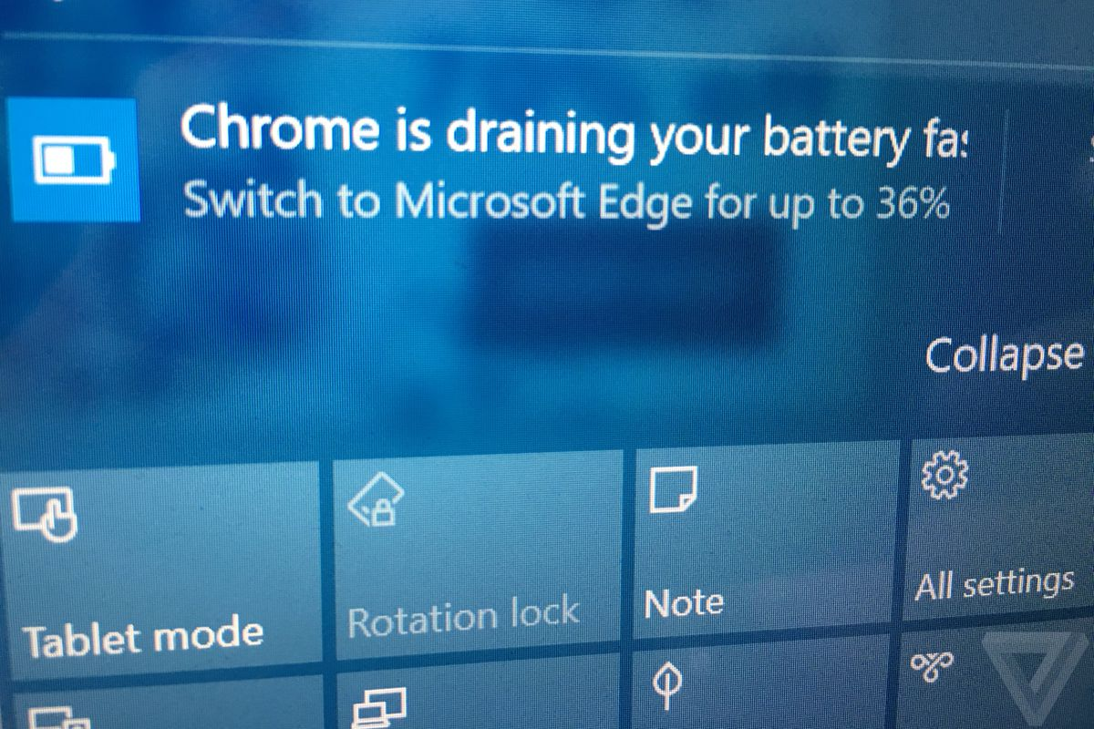 Microsoft's war against Chrome battery life now includes