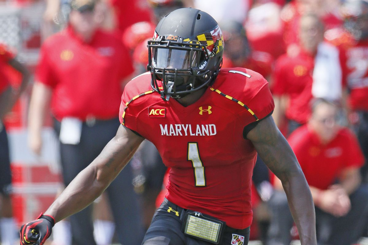 Stefon Diggs and Maryland meet Old Dominion on Saturday.