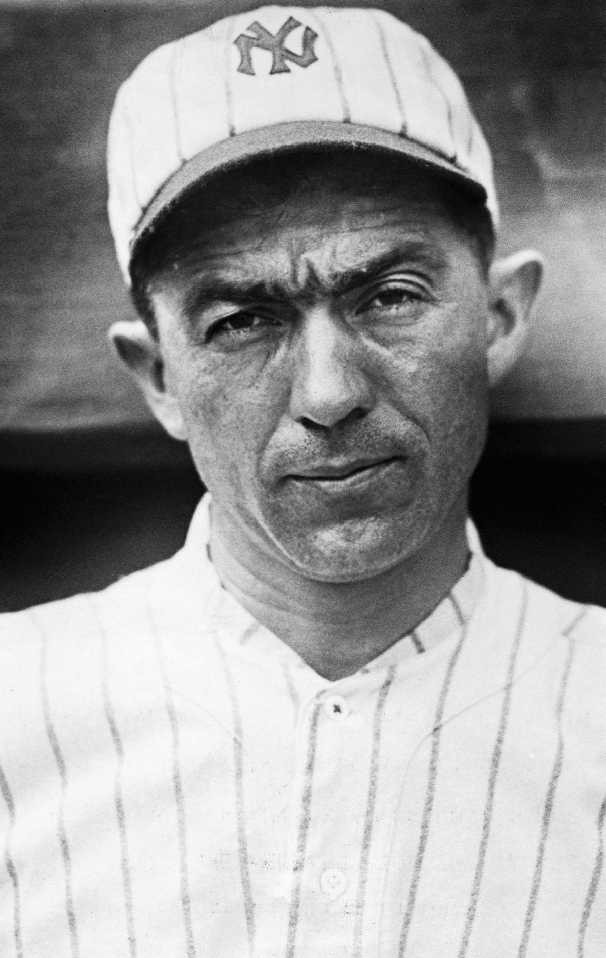 Portrait of Franklin Baker in Baseball Uniform