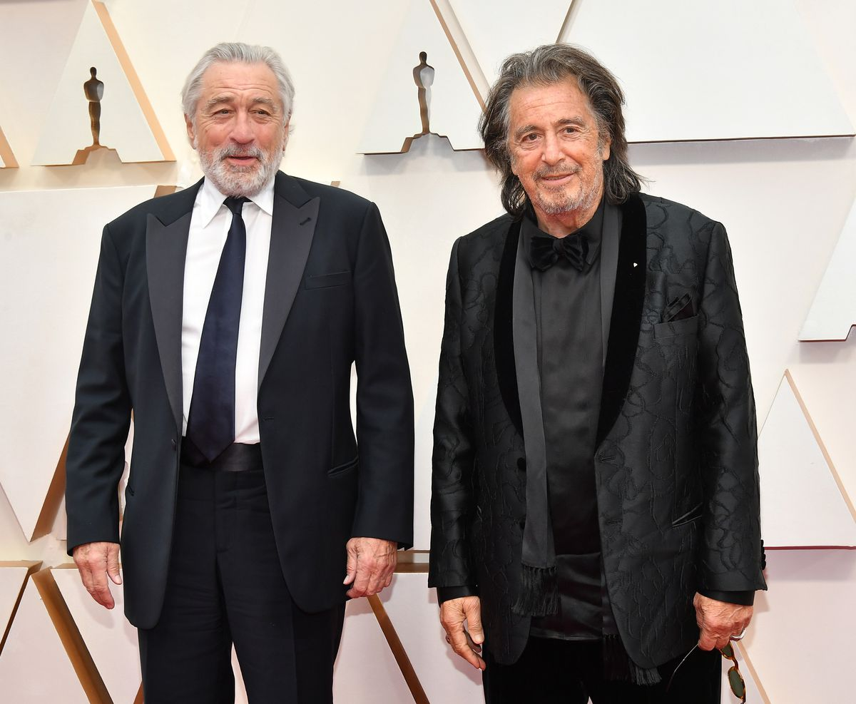 Robert De Niro and Al Pacino attend the 92nd Annual Academy Awards.