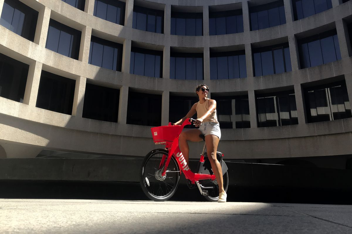 JUMP, D C 's electric dockless bike-share, plans to increase