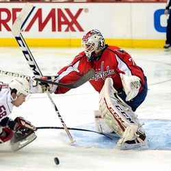Holtby Holds His Crease
