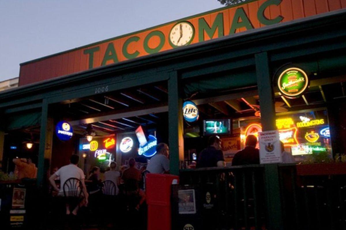 The original Taco Mac, Virginia-Highland.