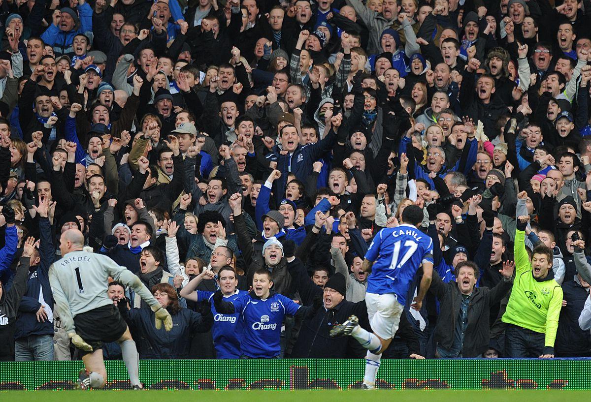 Soccer - FA Cup - Fifth Round - Everton v Aston Villa - Goodison Park
