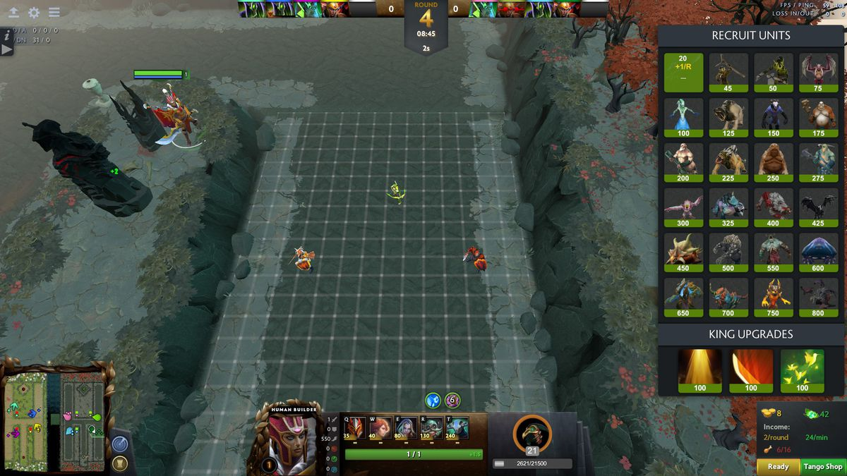 We played Legion TD Reborn, the Dota 2 remake of a classic custom