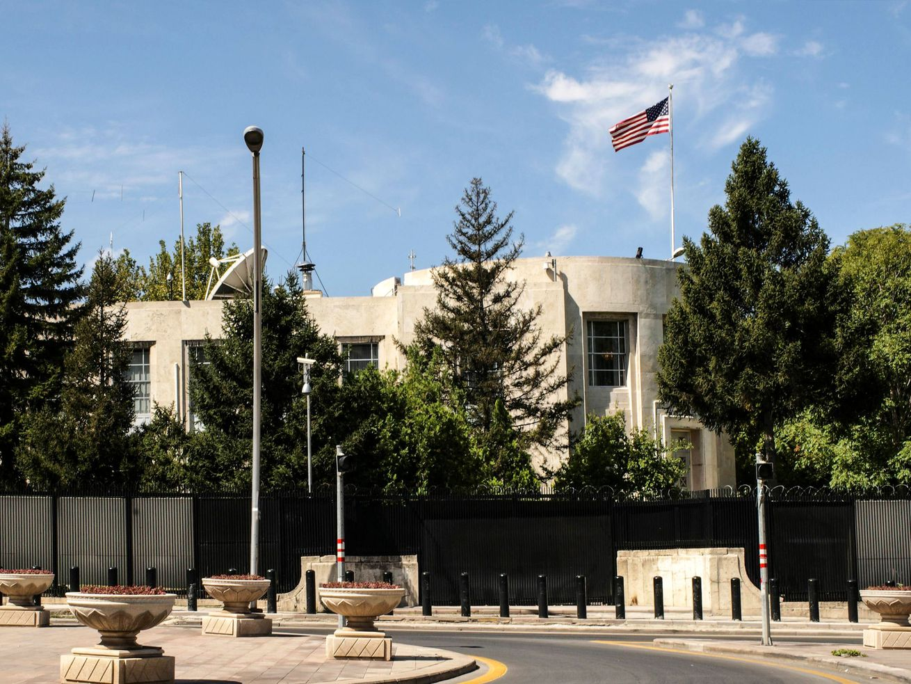 Gunshots were fired early on August 20, 2018, at the US embassy in Ankara but caused no casualties, Turkish and American officials said, amid escalating tensions between the two NATO allies.