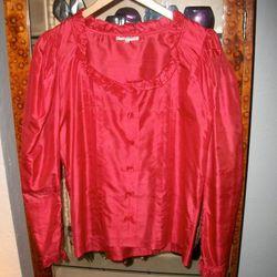YSL blouse, $175