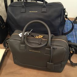 Leather bag, $495