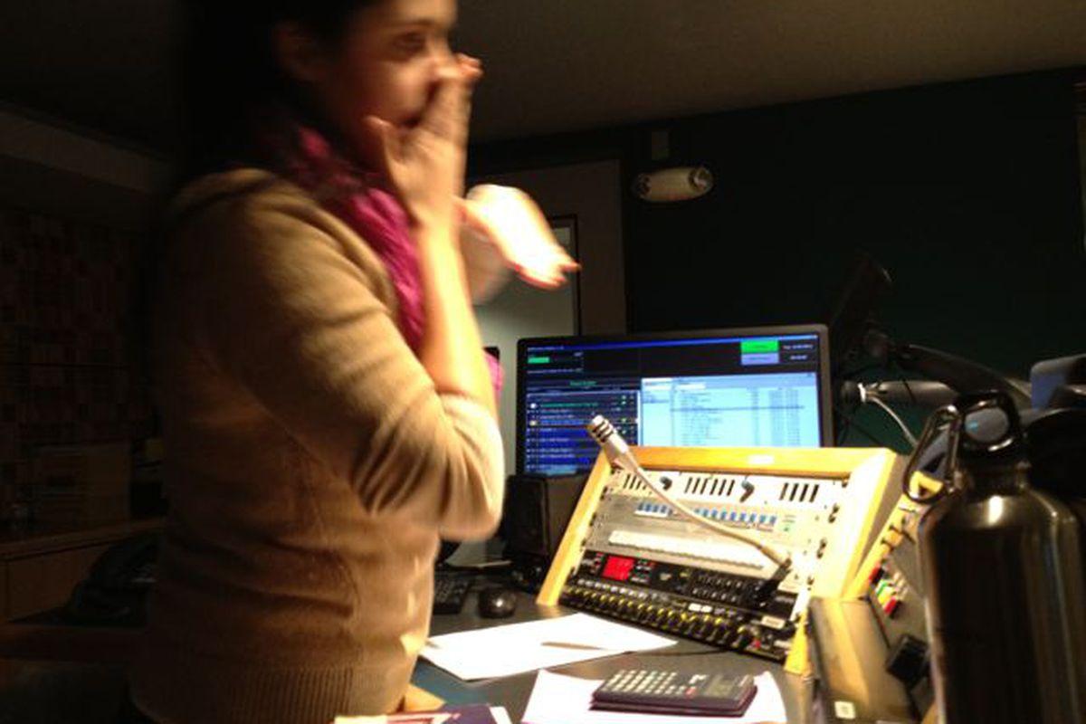 NPR studio (99% Invisible)