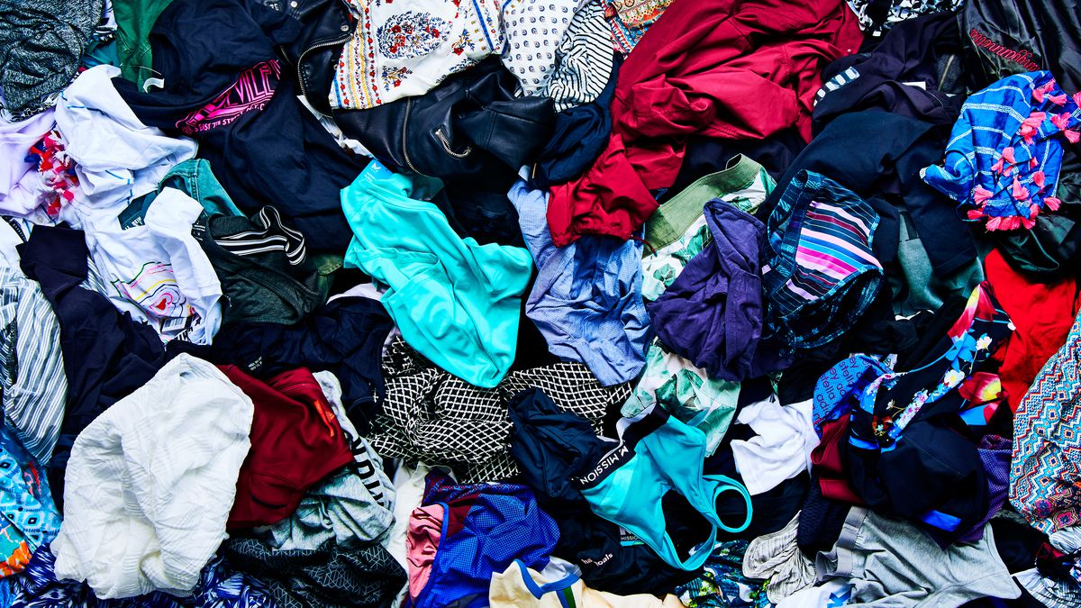 A pile of clothing