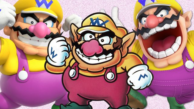 Mario wishes he were half as cool as Wario