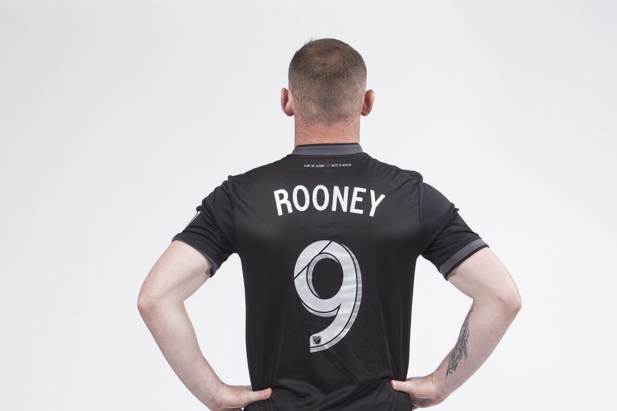 Wayne Rooney reveals D.C. United shirt number - Black And Red United 847755f98